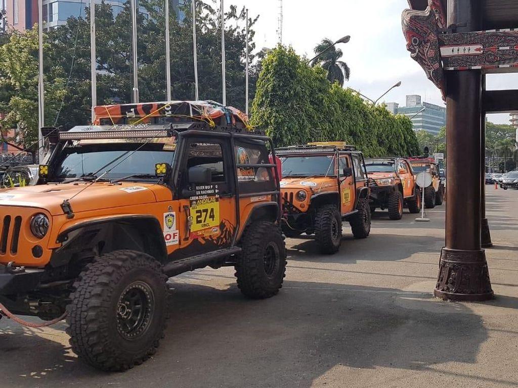 Indonesia Off-road Expedition 2019 Dimulai Hari Ini, Start dari Medan