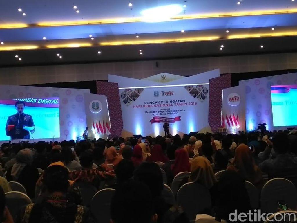 Jokowi Tak Ingin Dianggap Pencitraan Soal Capaian Pembangunan