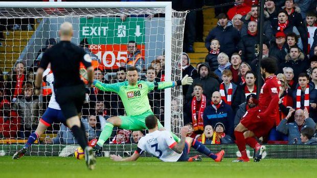Hasil Liga Inggris: Liverpool Bungkam Bournemouth 3-0