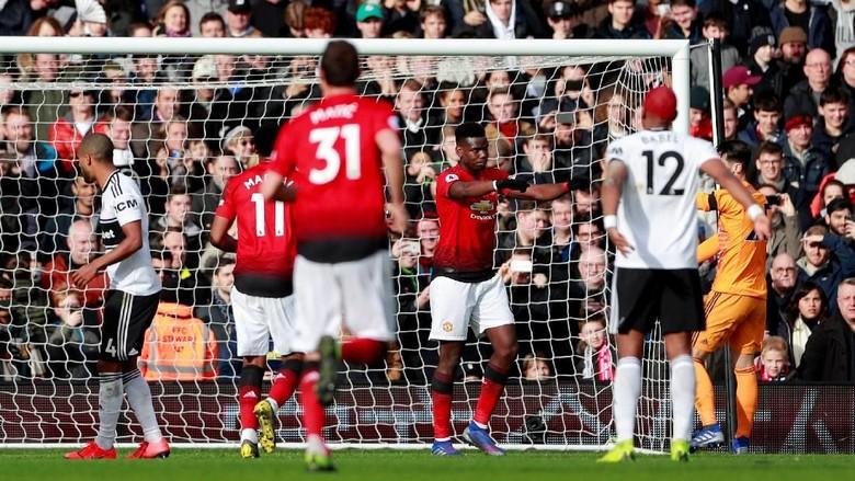 Hasil Liga Inggris: Kalahkan Fulham 3-0, MU ke Empat Besar