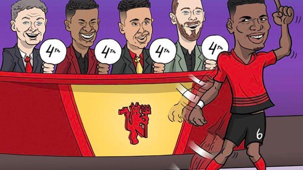 Menang Terus, Manchester United Panen Pujian di Medsos