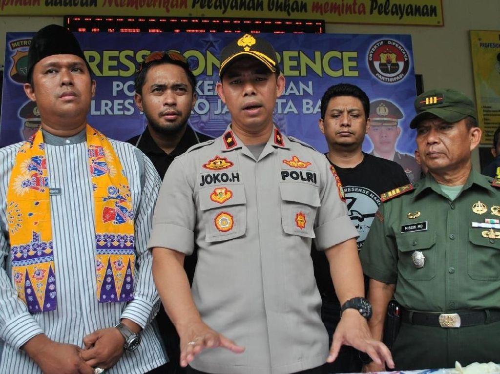 Ancam Petugas Dishub di Jakbar, 6 Pria Ditangkap Polisi