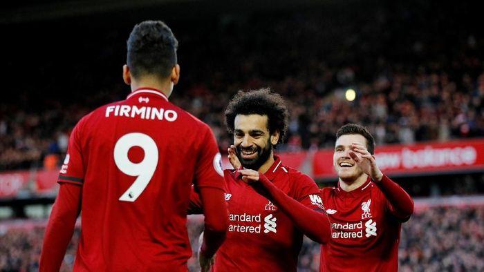 Liverpool ke puncak Liga Inggris usai kalahkan Bournemouth 3-0 (Phil Noble/Reuters)