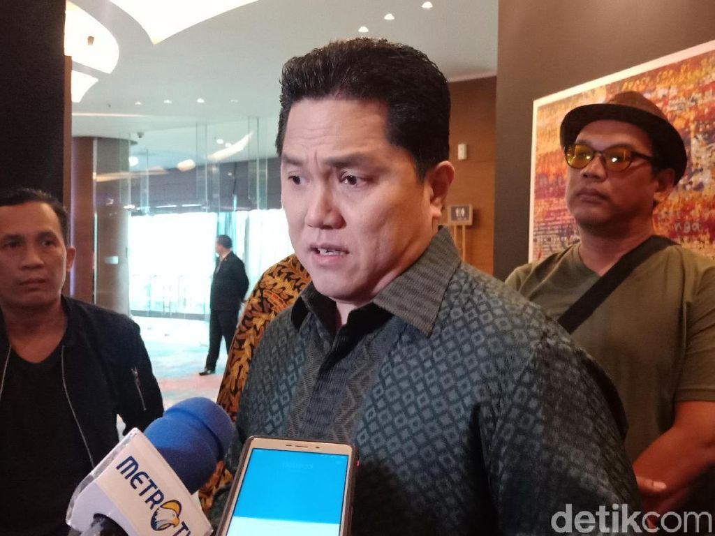 Lahannya Disinggung BPN Prabowo, Erick Thohir: Alhamdulillah Halal