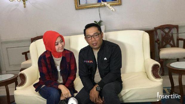 Ridwan Kamil dan istri