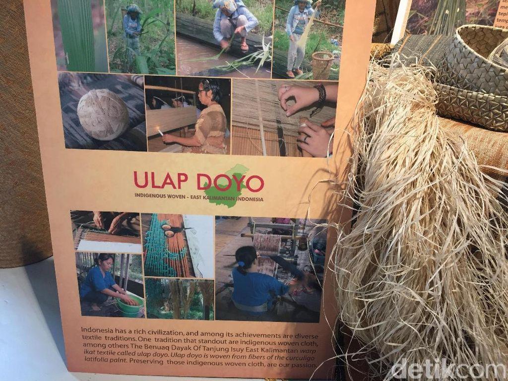 Unik! Ulap Doyo, Tenun Tanaman dari Kalimantan Timur