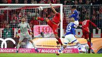 Rentetan Gol Bayern Kalahkan Schalke