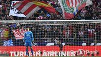 Disambut Dingin Mantan Suporter, Courtois Punya Respek Besar pada Atletico