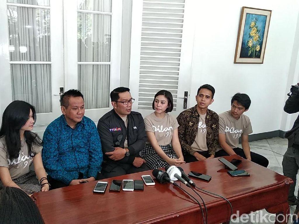 Ridwan Kamil Ingin Buat  Taman Dilan di Bandung, Seperti Apa?