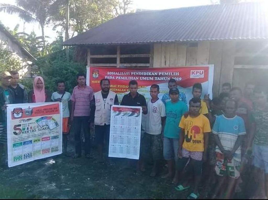 183 Warga di Kepulauan Aru Maluku Belum Tahu Tanggal Pemilu dan Nama Capres