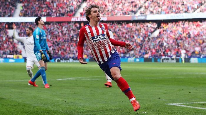 Antoine Griezmann akan meninggalkan Atletico Madrid di akhir musim ini (Foto: Gonzalo Arroyo Moreno/Getty Images)