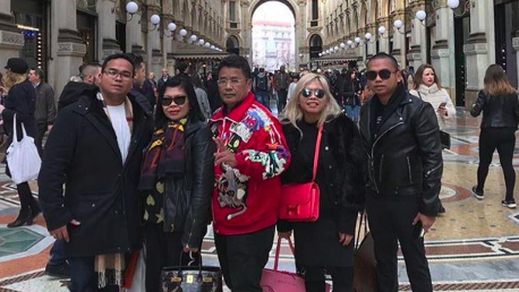 7 Momen Kehangatan Hotman Paris Hutapea dengan Tiga Anaknya