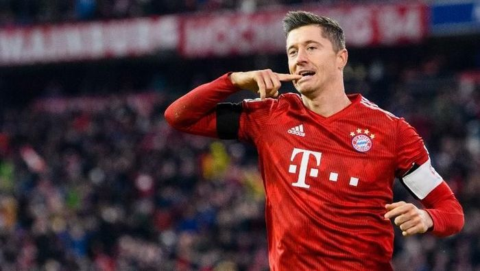 Robert Lewandowski ingin bertahan di Bayern Munich bertahun-tahuun ke depan. (Foto: Matthias Balk / dpa / AFP)