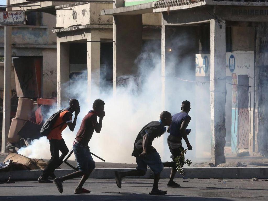 Ribuan Orang Turun ke Jalan di Haiti Untuk Serukan Presiden Mundur
