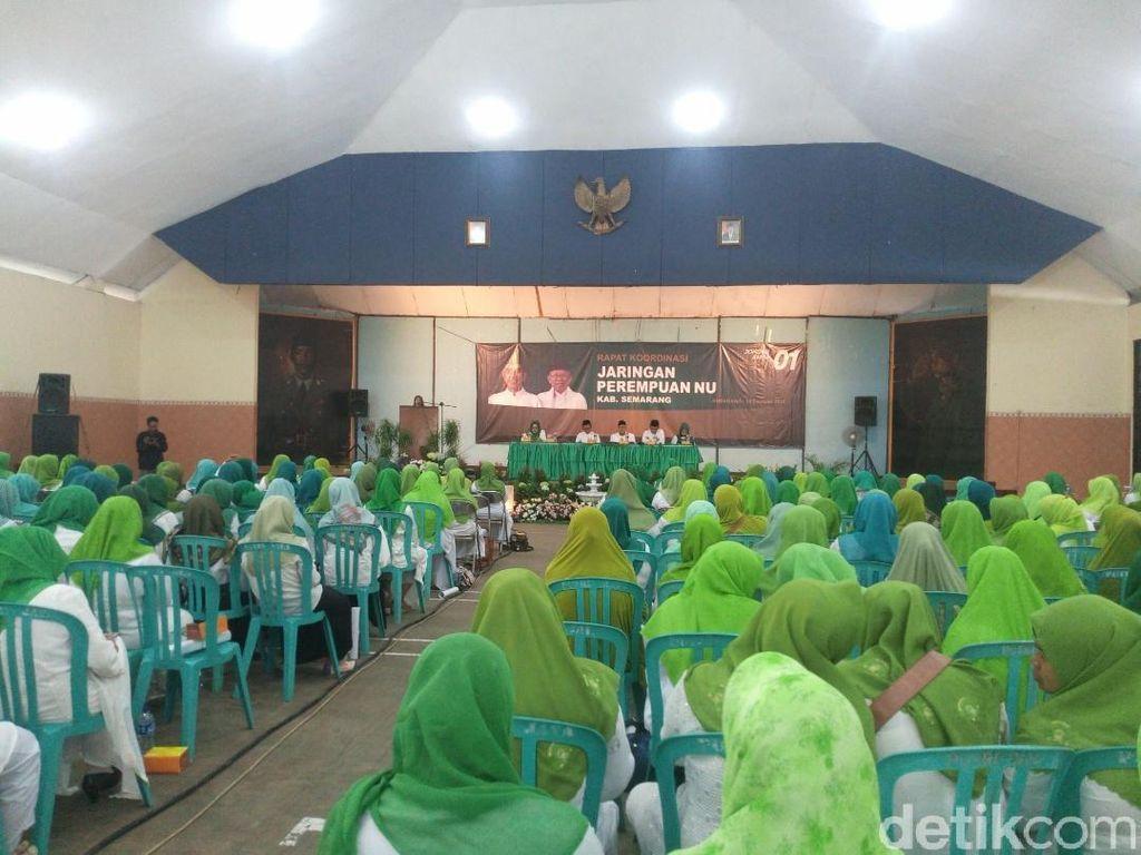 Perempuan NU Siap Bentengi Maruf Amin dari Kampanye Negatif
