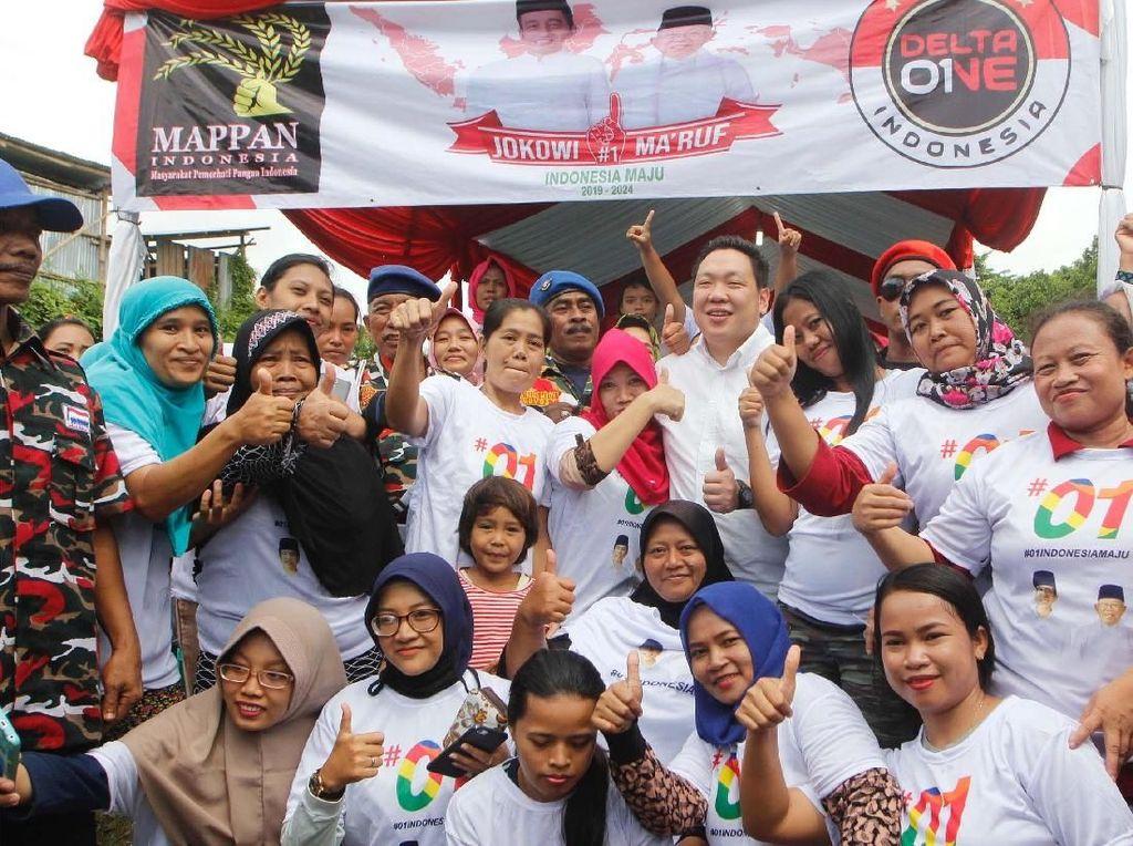Laskar Merah Putih Dukung Jokowi-Maruf