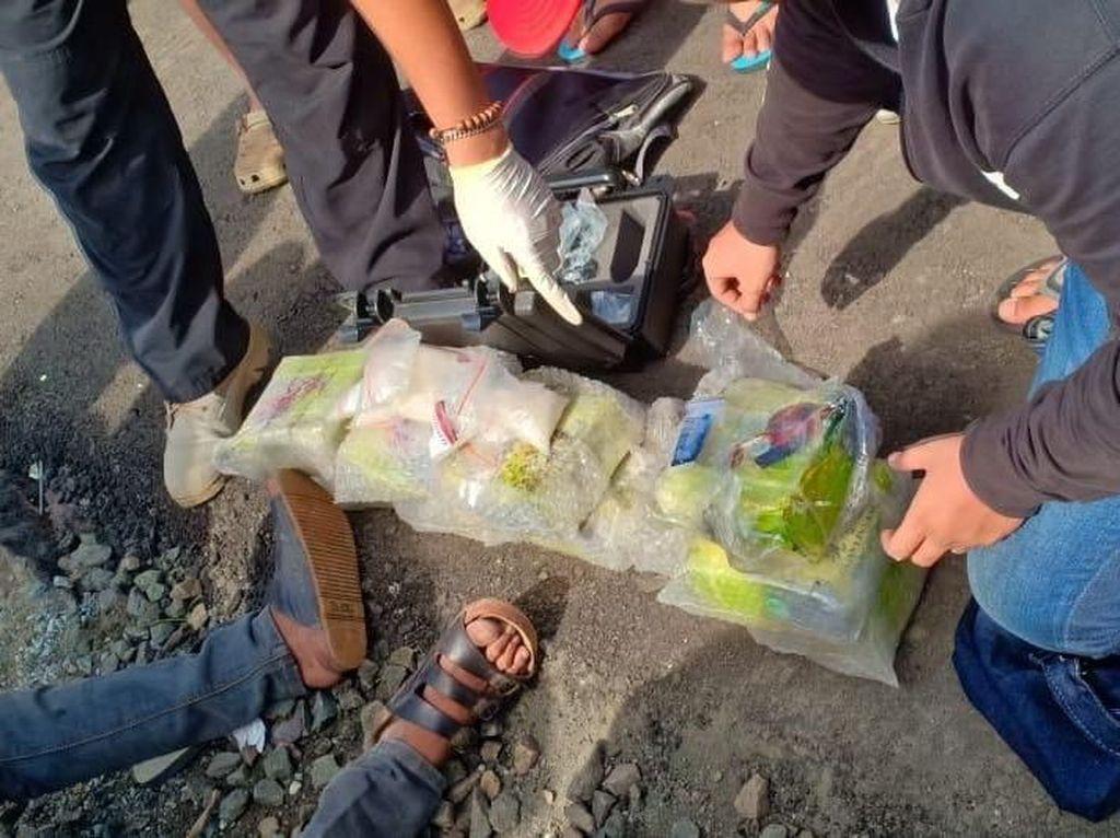 BNN Tangkap Penyelundup 11 Kg Sabu di Pelabuhan Banten