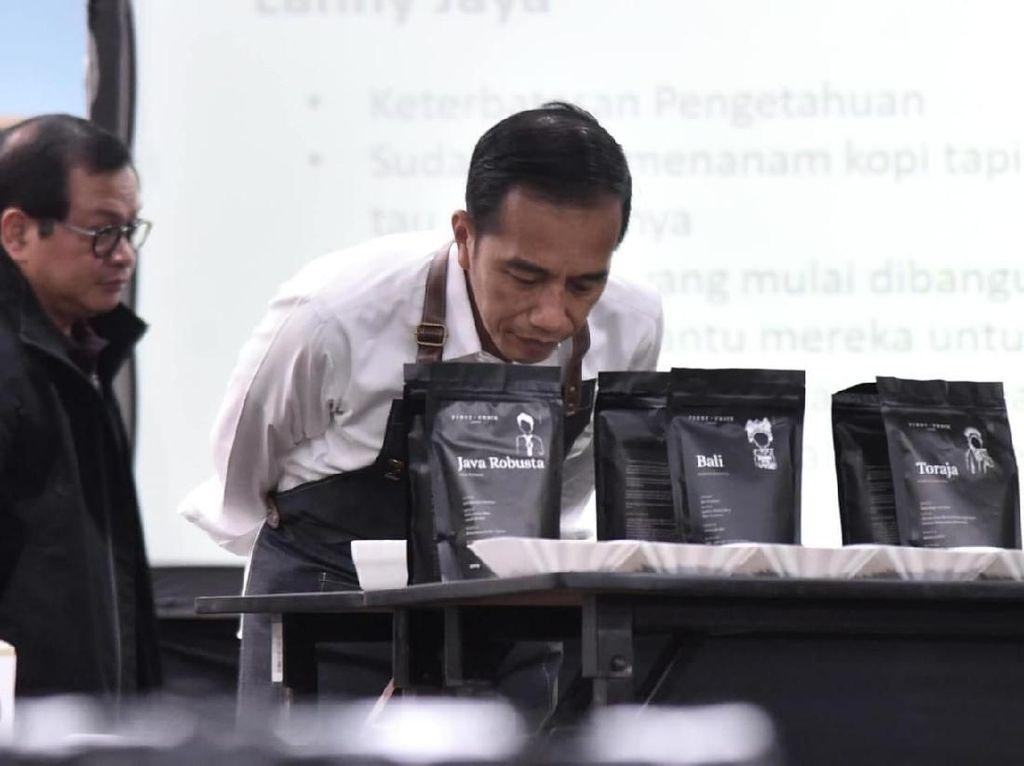 Jokowi Belajar di Kelas Kopi, Apa Saja Pekerjaannya?