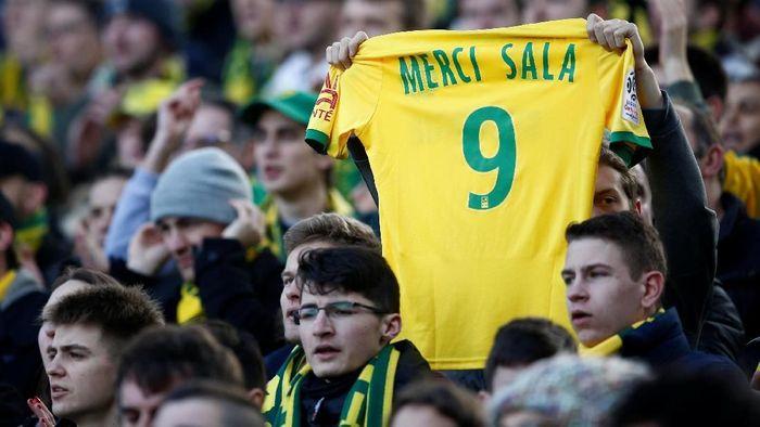 Akan ada penghormatan untuk Emiliano Sala di Liga Champions dan Liga Europa tengah pekan ini (REUTERS/Stephane Mahe)