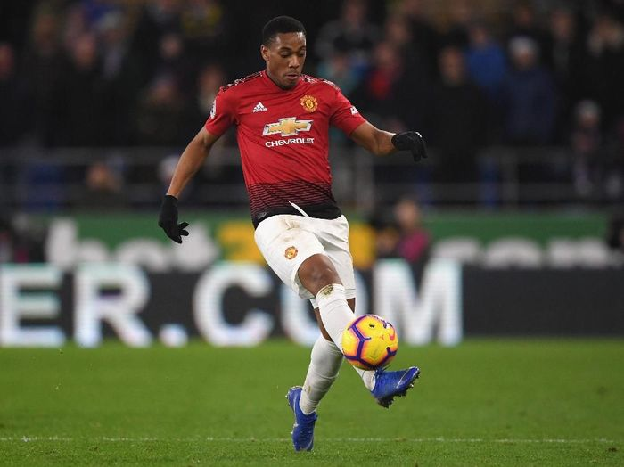Pemain Manchester United, Anthony Martial. (Foto: Stu Forster/Getty Images)