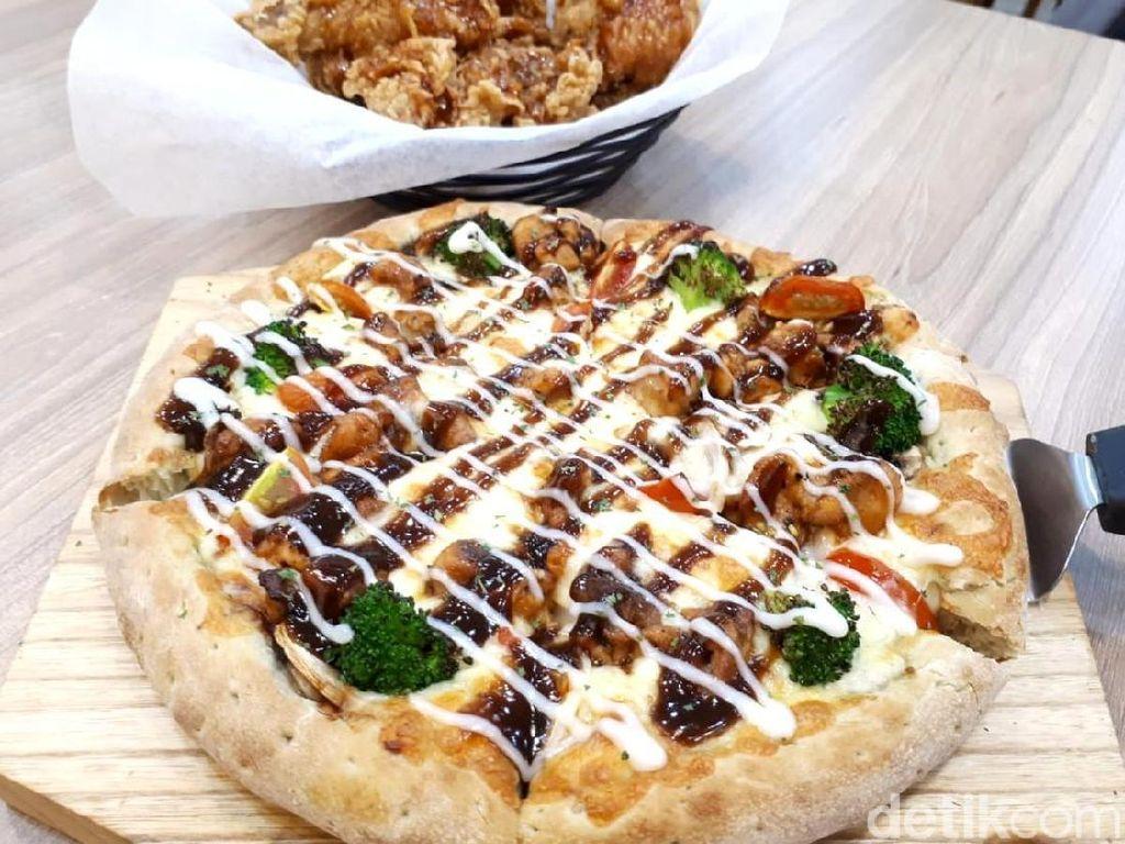 Pizza Maru: Pizza Sehat ala Korea dengan Matcha, Barley dan Oat Ada di Sini