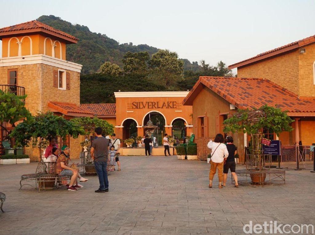 Liburan Romantis di Thailand Ada Perkebunan Anggur Ala Eropa