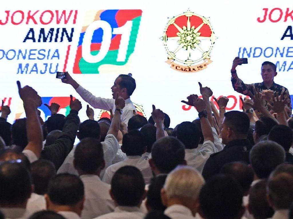 Giliran Purnawirawan TNI-Polri Dukung Jokowi-Maruf Amin