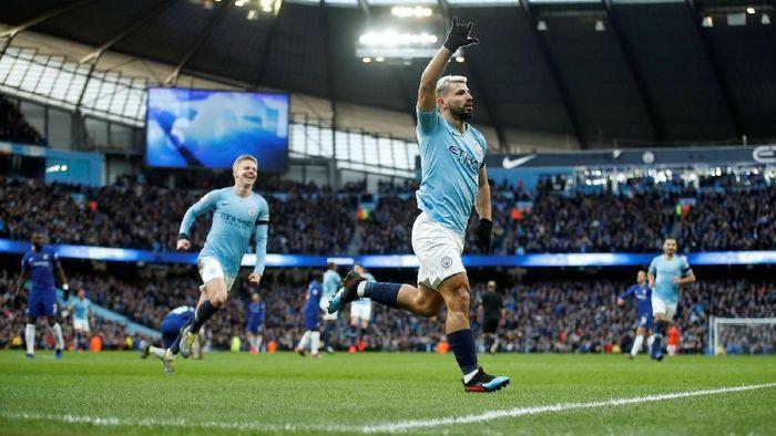 Manchester City meminta maaf ke Chelsea usai meraih kemenangan 6-0 (Reuters)