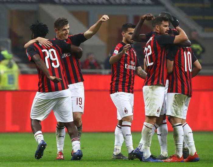 AC Milan bertemu dengan Cagliari dalam pada laga di San Siro, Senin (11/2/2019) dini hari WIB.