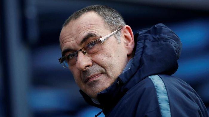 Manajer Chelsea Maurizio Sarri. (Foto: Carl Recine/Reuters)
