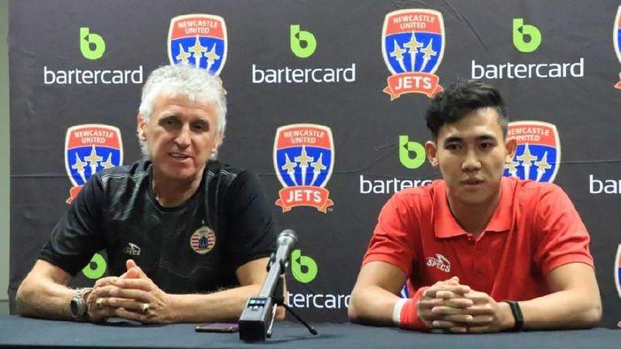 Ivan Kolev (kiri), pelatih Persija Jakarta (dok. Persija Jakarta)