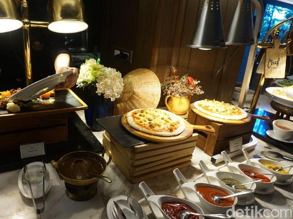 Foto: Alhamdulillah, Wisata Kuliner Buffet Halal Lezat di Thailand