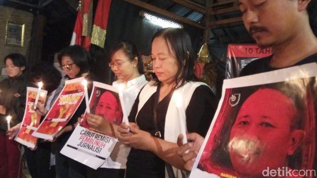 Berita Remisi Pembunuh Wartawan Dicabut, Keluarga Kenang Kematian Prabangsa Sabtu 24 Agustus 2019