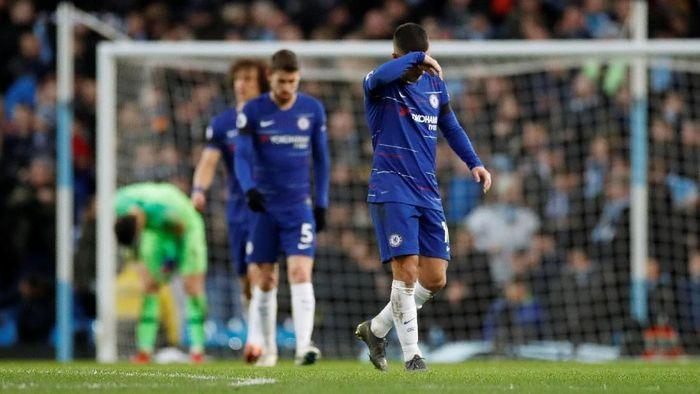 Chelsea babak belur di kandang Manchester City Foto: (Action Images via Reuters/Carl Recine)