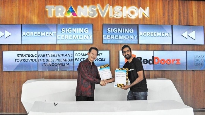Foto: dok. Transvision dan RedDoorz