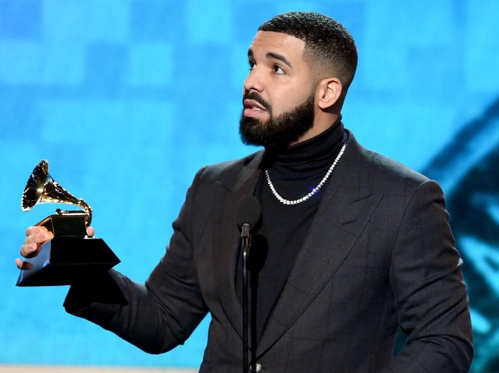 Menang di Billboard Music Awards, Drake Terima Kasih ke Arya Stark GoT