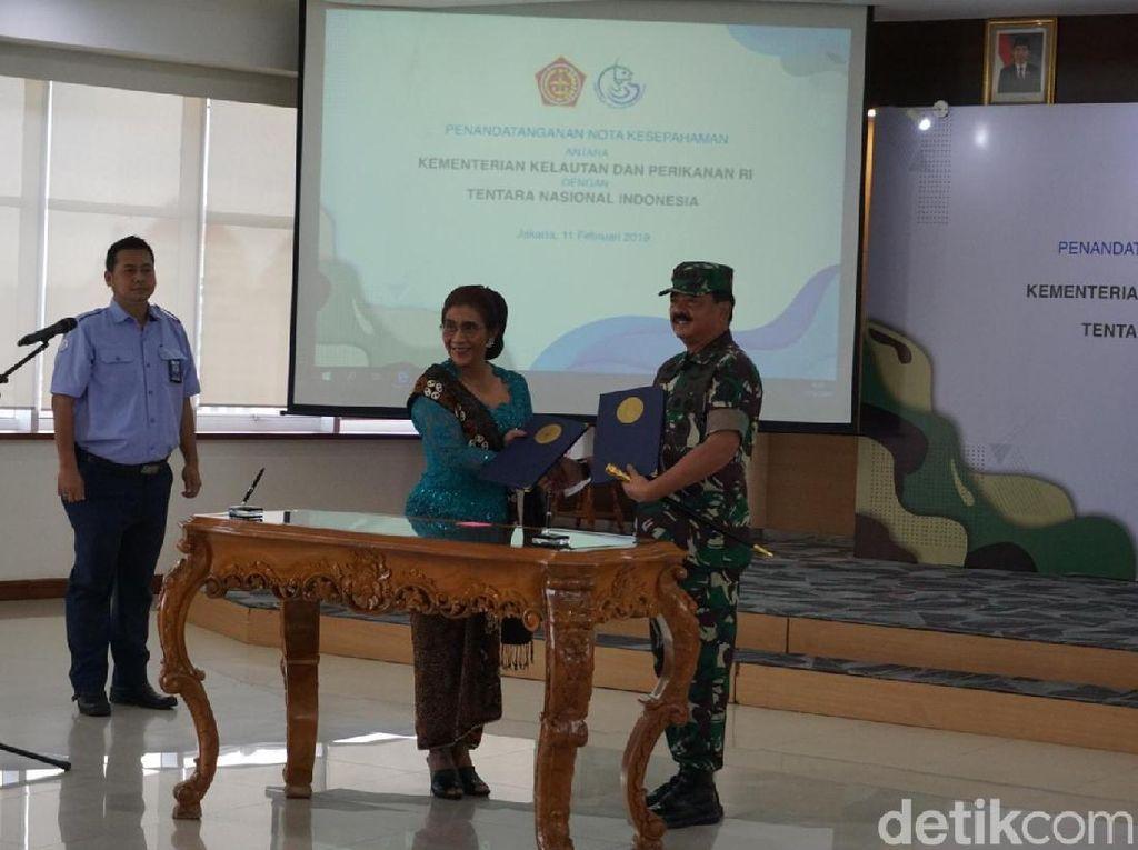 KKP dan TNI Sepakat Perketat Penjagaan Laut dari Pencuri