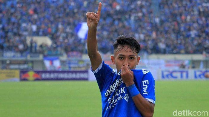 Beckham Putra Nugraha absen membela Persib Bandung di Asia Challenge Cup karena seleksi di Timnas Indonesia U-19. (Foto: Wisma Putra/detikcom)