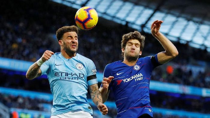 Manchester City vs Chelsea panaskan Liga Inggris pekan ke-13. (Foto: Reuters)
