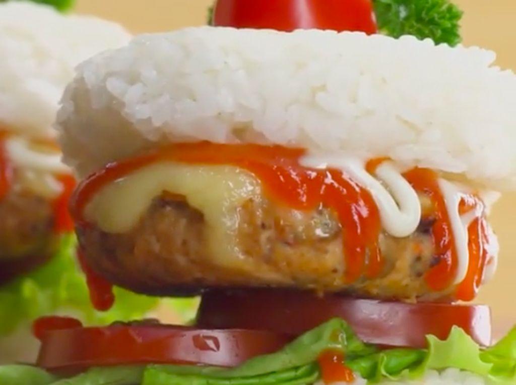 Resep Burger Nasi Oncom, Gurih Pedas Nikmat di Lidah
