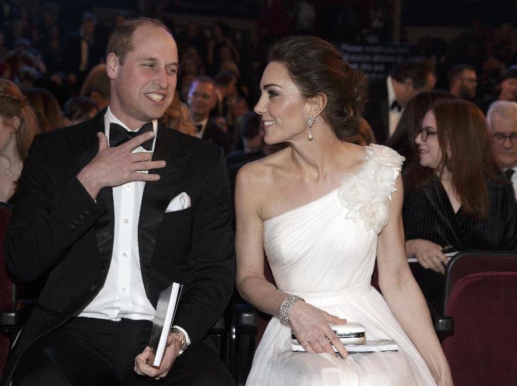 Cantiknya Kate Middleton Saat Hadiri BAFTA Awards 2019