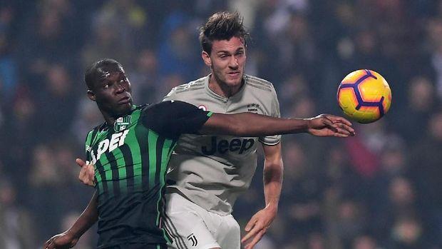 Sassuolo tidak pernah menang atas Juventus dalam tujuh laga terakhir di Serie A.