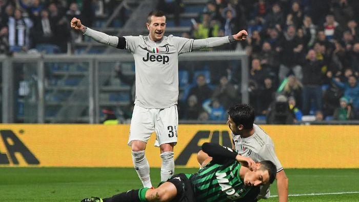 Juventus menang telak 3-0 atas Sassuolo. (Foto: Alessandro Sabattini/Getty Images)
