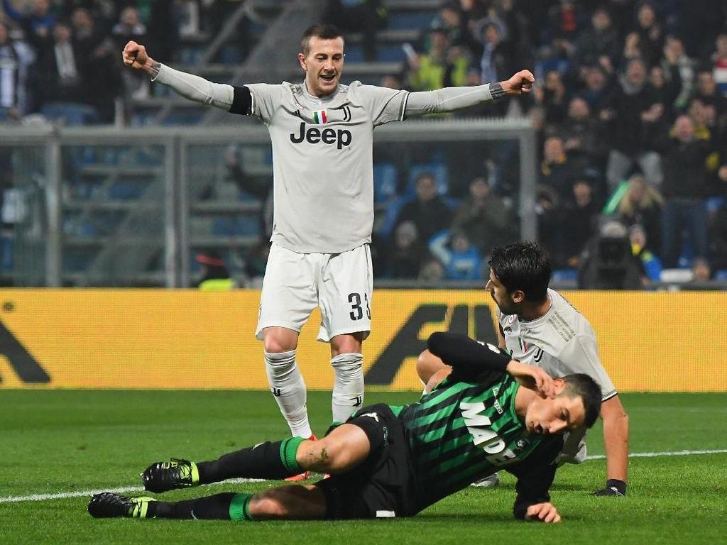 Hasil Liga Italia: Juventus Atasi Sassuolo 3-0