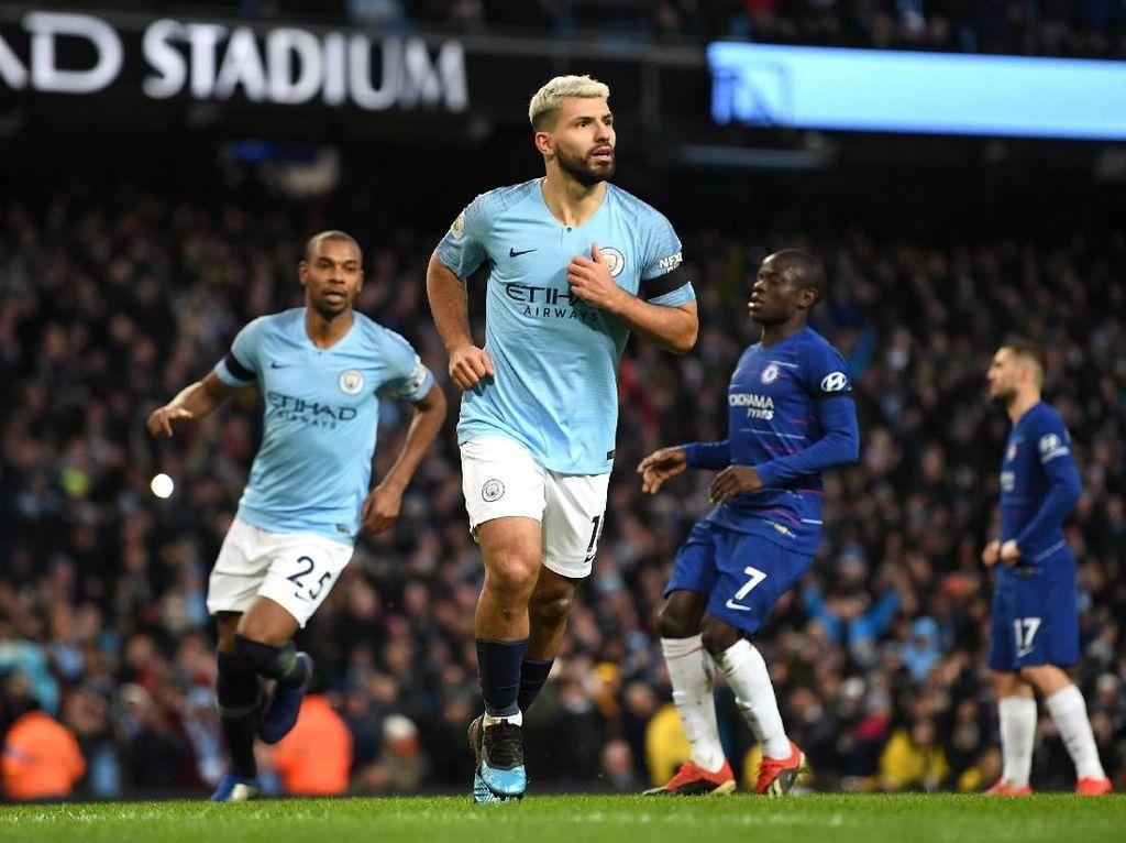 Hasil Liga Inggris: Manchester City Habisi Chelsea 6-0!