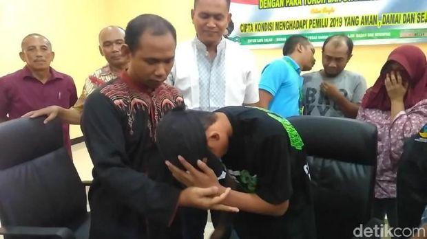 Guru dan muridnya sudah saling memaafkan