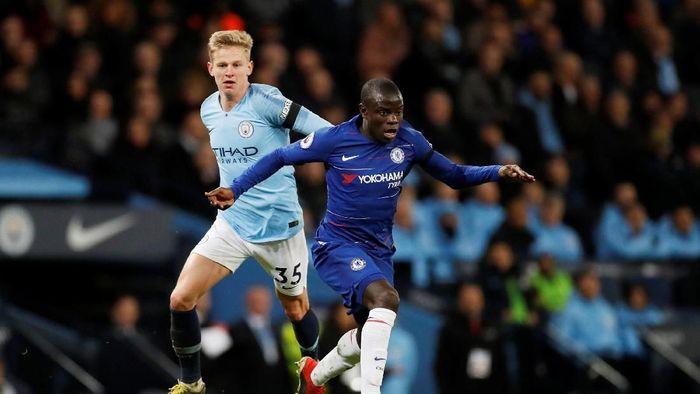NGolo Kante meminta Chelsea bangkit dari kekalahan telak kontra Man City (Carl Recine/Reuters)