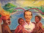 Lukisan Potret Dirinya Laku Rp 2 M, Jokowi: Ini Fundraising