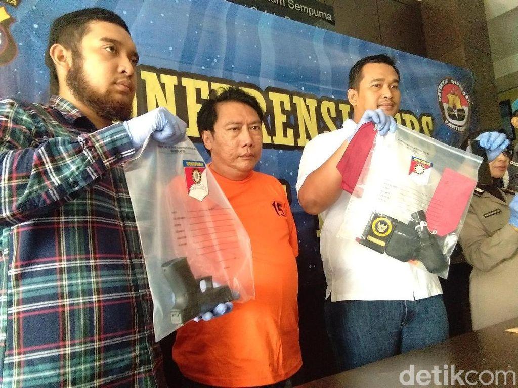 Ngaku Irjen, Pria Asal Tangerang Ini Miliki Pistol Glock Ilegal