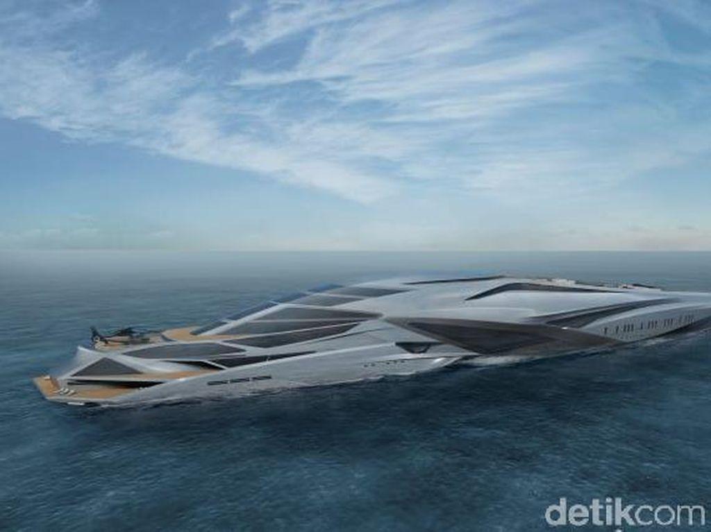 Yacht Terbesar di Dunia Desainnya Gila-gilaan, Buat Horang Kayah